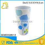 custom made melamine round coffee travel mug                                                                                                         Supplier's Choice