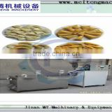 grain corn fried bugle snack production line / 3D frying bugle snack making machine