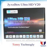 Digital satellite receiver JYAXBOX ultra hd v20 with jb200 and wifi 1080p hd Wifi adapter