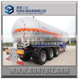 three axles 57000LT 57KL 57M3 propylene lpg road tanker gas tank manufacturers