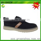 factory price men adult suede leather bond low cutter shoes