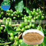 2015 China Manufacturer Organic Green Coffee Bean Extract, Green Coffee Bean Extract Powder, Pure Green Coffee Bean Extract