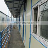 custom-made steel structure prefab house(kiosk,booth,office,sentry,guard house,toilet ,ect.)
