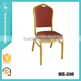 2015 popular stacktable five star hotel banquet chairs