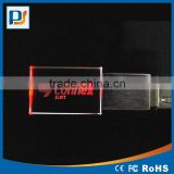 Wholesale Price Pendrive Engraving Laser 3D Logo on Crystal USB Flash Drive USB Disk