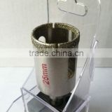 Diamond Electroplated 25mm Diamond Core Drill For Drilling Holes In Marble,Glass Materials