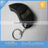 HF-GL-0814 Digital Tire Pressure Gauge Mini Keychain Car Tire Air Pressure Gauge