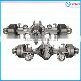 8 ton single reduction press welding rear drive axle for 6x4 light weight truck or multi-axle vehicle