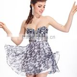 short chiffon evening dress without dress sexy girls photo first night