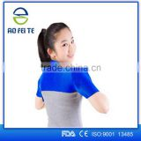 2015 Aofeite Neoprene Therapy Magnetic Protection Heating Double Shoulder Brace Belt