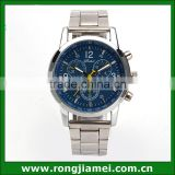 Fashion Mens Luxury Cheap Stainless Steel Western Wrist Watch For Gift                                                                         Quality Choice