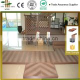 wood grain wpc wpc garden house deck manufacture price