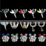 3D Nail Art DIY Rhinestone Decoration Angel & Mask Nail Accessories For Manicure Tools