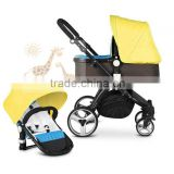 Baby Stroller Travel System Best Sale Item Europe Standard Pram Strollers 3 IN 1 Purple Baby Stroller