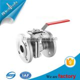 mini size standard steel medium pressure ball structure valves from professional factory