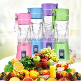 battery operated mini hand travel sport personal blender juice fruit juicer