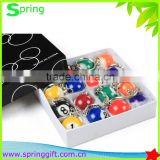 number billiard ball key chain black eight pool ball keychain                                                                         Quality Choice