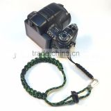 paracord camo green camera wrist strap for camera outdoor survival paracord camera wrist strap