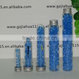 plastic test tubes screw cap for candy/bracelet/tool/crafts