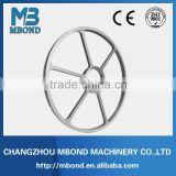 ISO9001 CE iron cast pulley for textile machine agricultural mahcine