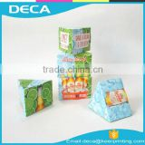 New Design Creative Paper Packaging used to advertise your Products Craft Triangle Paper Box                                                                         Quality Choice