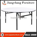Durable metal frame banquet table for restaurant JC-T165
