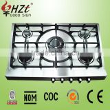 2016 stainless steel lpg safety device gas stove