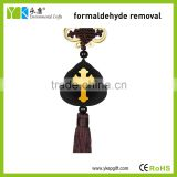Eco-friendly Europe and America Style cross religious car hanging pendant made by activated carbon