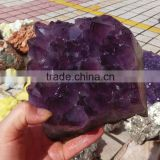 natural amethyst cluster crystal for wholesale