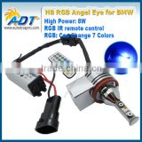 2016 Hot sale remote color change RGB LED Angel Eyes Marker For BMW E70/E71 X5M/X6M/E90/E92/E93 M3