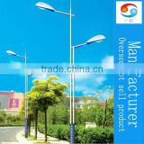 Double arm cast iron cheap price street lighting pole lamp post China products