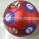 profession metal leather football for training and match