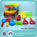 plastic watering pot shovels garden tool kids beach construction truck toys