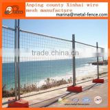 Factory price Prefab galvnaized City road mobile Temporary fencing/ Road security barrier