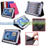 Vigo Universal Book Style Cover Case with Built-in Stand [Accord Series] For Ausus Memo Pad Smart Me 301T Tablet