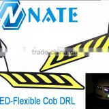 New Product 12V Auto Accessories Parts Singel Color Universal Flexible Car Led Headlight