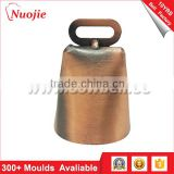 NuoJie professional Hunting accessories hunting bell with logo and strap attached for pet