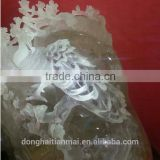 National Beauty and Heavenly Fragrance Natural Clear Quartz Crystal Peacock Statue for Hotel/Office Decoration