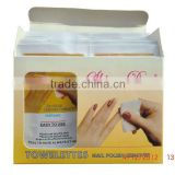 Nail Polish Remover Wet Wipes, CE certification, China supplier, OEM offered