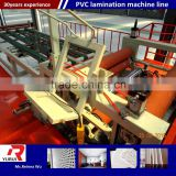 Whole life after-sale service pvc laminated steel sheet pvc laminated gypsum ceiling tiles machine production line