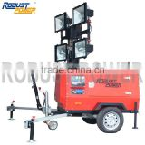 Mobile Light Tower with Quanchai DIESEL ENGINE