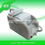 mini tattoo removal laser Yag laser 532nm 1064nm Q-Switch Nd;YAG for Skin Resurfacing D003