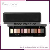 Diamond 10 colors single eyeshadow packaging glitter eyeshadow palette/mineral eyeshadow