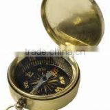 Brass Kaaba compass pendant/ Nautical Pendant Muslim compass / Compass FOR PENDANT