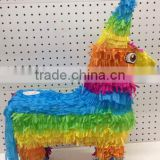 Colourful pinata donkey rainbow pinata for decoration pinata donkey