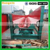 Hot selling 4m length 8t output wood bark peeling machine wood barker wood debarking machine