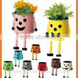 Colorful and Popular mini terracotta flower pot Flower pot for For foliage OEM available