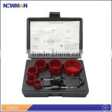 22mm-64mm 9pcs bi-metal hole saw kit