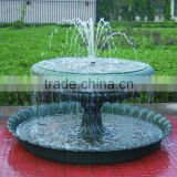 Cast Iron Mini Outdoor Angel Water Fountain