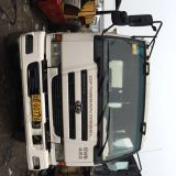 8cbm mixing drum used nissan concrete mixer truck